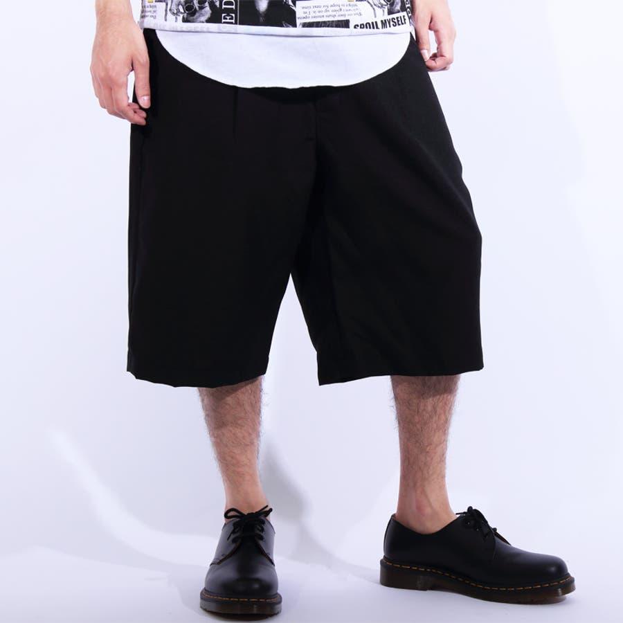 ショートパンツ メンズ 短パン ハーフパンツ全5色 新作 ショートパンツポリトロ 膝上 ショーパンネイビー ブラック ブルー M LLL8(eight) エイト 8 3
