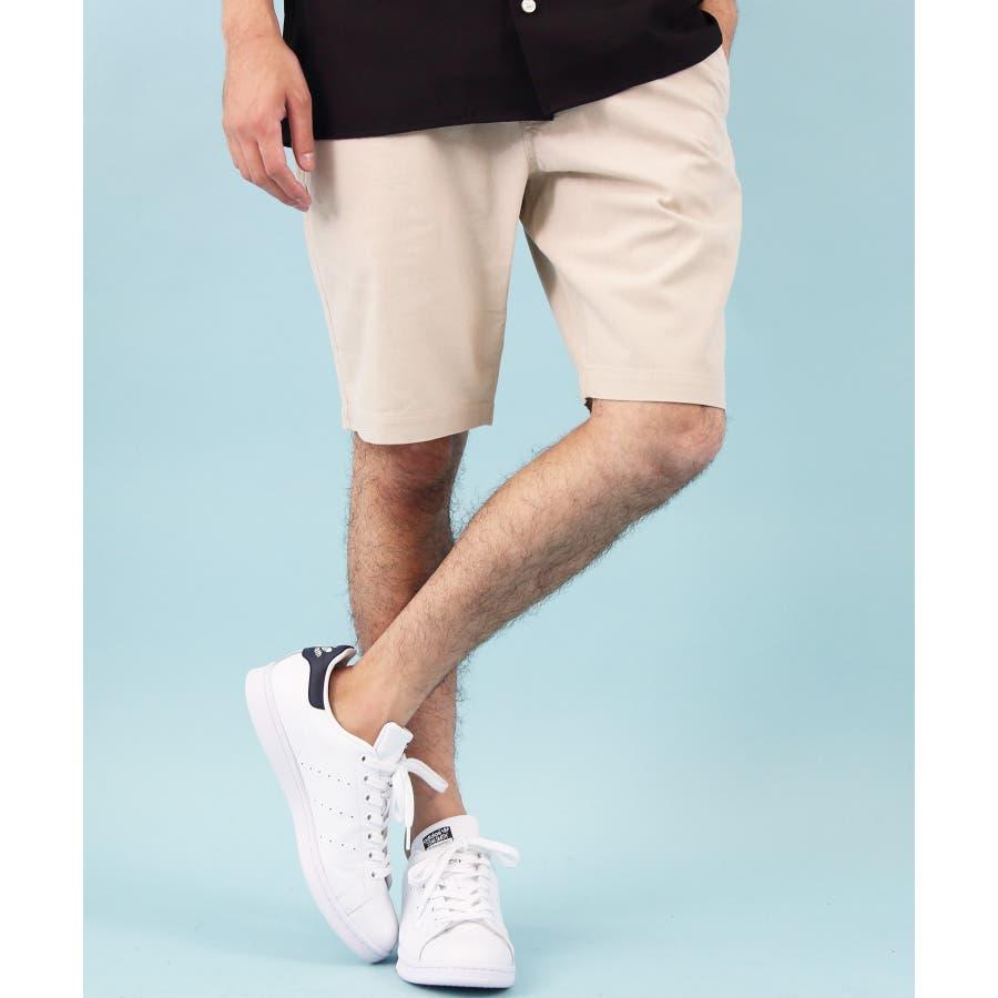 ショートパンツ メンズ 短パン ハーフパンツ全5色 新作 ショートパンツリネン 麻 コットン 膝上 ショーパンホワイト ブラックネイビー M L LL8(eight) エイト 8 41