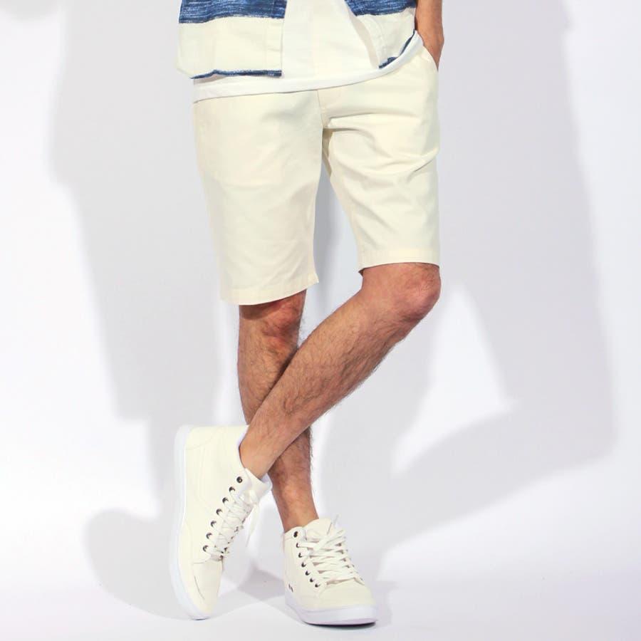 ショートパンツ メンズ 短パン ハーフパンツ全9色 新作 ショートパンツツイル 綿 コットン 膝上 ショーパンホワイト ブラック ブルー S M L LL8(eight) エイト 8 5