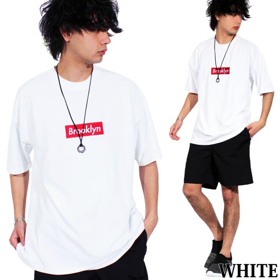 Tシャツ メンズ 半袖 ロゴ全5色 新作 Tシャツボックスロゴ 半袖 Tシャツ ビッグTシャツコットン 綿 ホワイト 白 ロゴM Lストリート系 アメカジ系 に◎8(eight) エイト 8 3