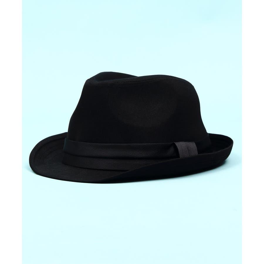 ハット メンズ レディース ハット 帽子全5色 新作 ハットシンプル 中折れ ハット コットンブラック チェック レディースにも大人気!!ビッグサイズ 8(eight) エイト 8 21
