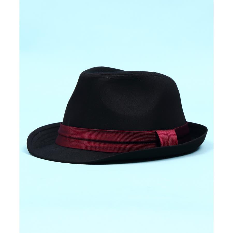 ハット メンズ レディース ハット 帽子全5色 新作 ハットシンプル 中折れ ハット コットンブラック チェック レディースにも大人気!!ビッグサイズ 8(eight) エイト 8 96