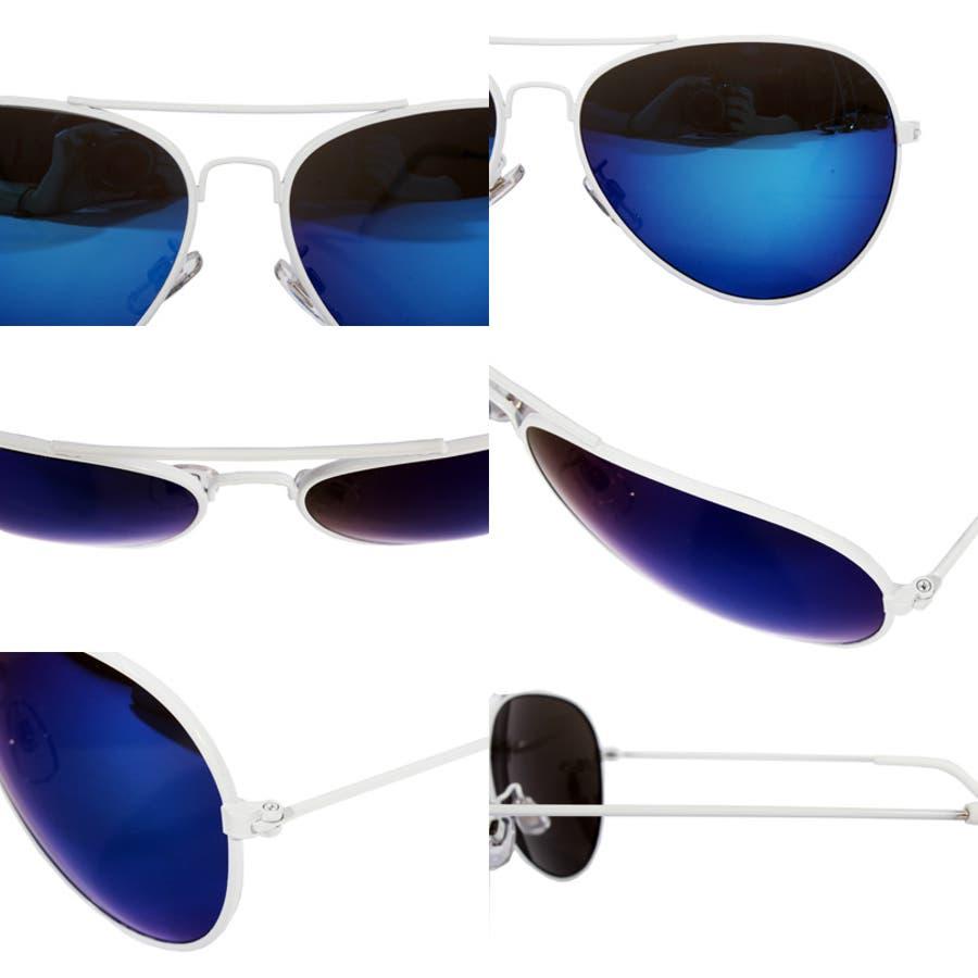 ティアドロップ サングラス メンズ ビッグフレーム新作 ティアドロップ サングラス 伊達メガネビッグフレーム 紫外線対策UVカット入りストリート系 アメカジ系 におすすめ!専用ケース付 8