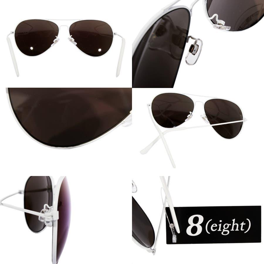 ティアドロップ サングラス メンズ ビッグフレーム新作 ティアドロップ サングラス 伊達メガネビッグフレーム 紫外線対策UVカット入りストリート系 アメカジ系 におすすめ!専用ケース付 9