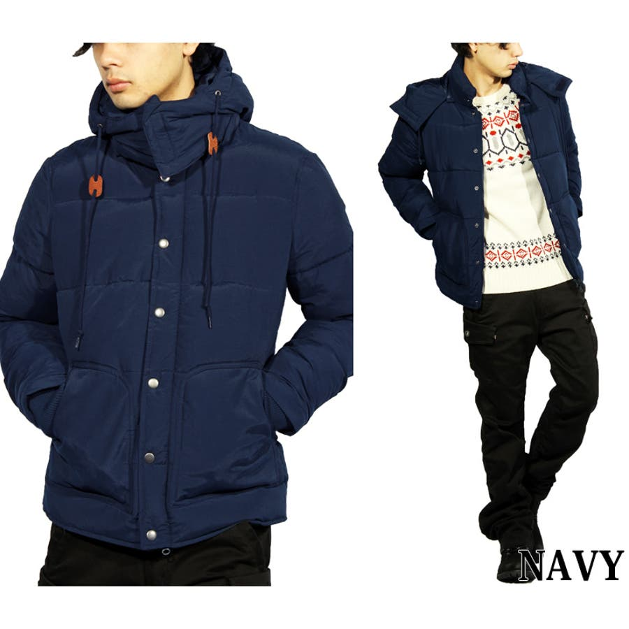 ダウンジャケット メンズ ブルゾン ジャケット 中綿中綿 ダウン ジャケット ブルゾン ジャケットオリーブ ネイビー 紺大きいサイズ