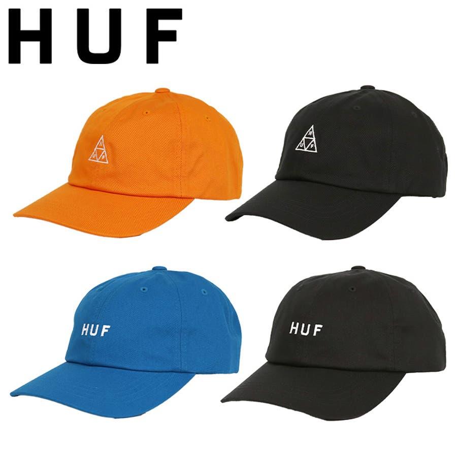 ハフ キャップ HUF CV 6PANEL CAP ESSENTIALS OG LOGO/TT メンズ 帽子 人気 ブランドストリート ファッション 1