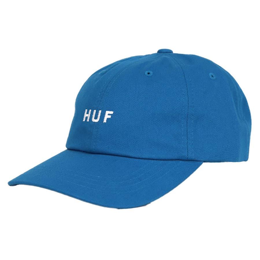 ハフ キャップ HUF CV 6PANEL CAP ESSENTIALS OG LOGO/TT メンズ 帽子 人気 ブランドストリート ファッション 6