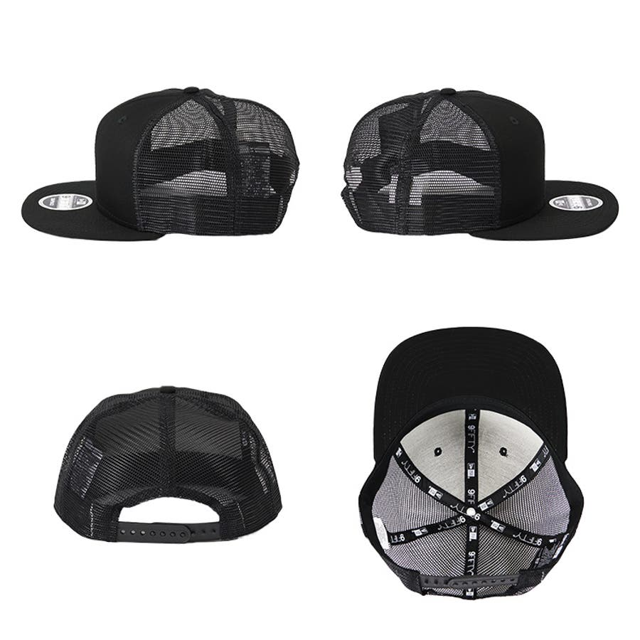 ニューエラ メッシュキャップ メンズ 無地 9FIFTY ORIGINAL FIT New Era meshcap men'sスナップバック トラッカー メッシュ 帽子 キャップ 人気 ブランド メッシュ帽 無地キャップ プレゼント 5
