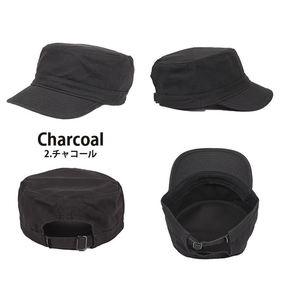 ニューハッタン ワークキャップ メンズ レディース 無地 帽子 NewHattan cotton army cap おしゃれアウトドアミリタリー 3