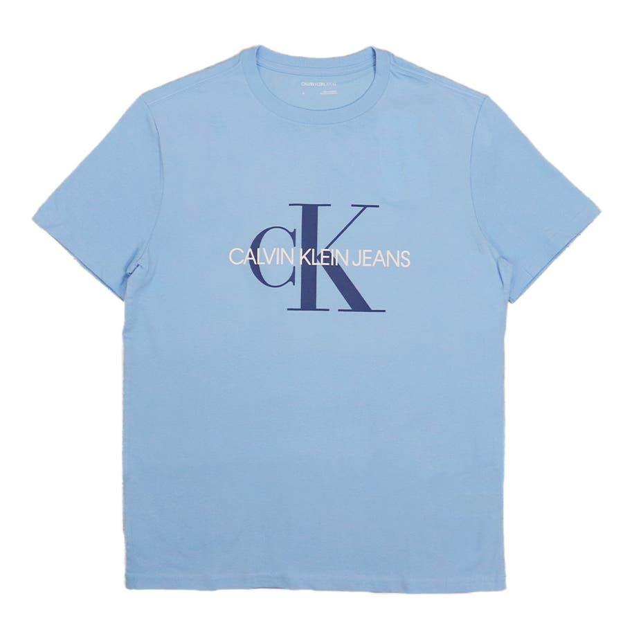 カルバンクライン ジーンズ Tシャツ メンズ レディース CalvinKleinJeans CK MONOGRAM トップス半袖ブランド 60