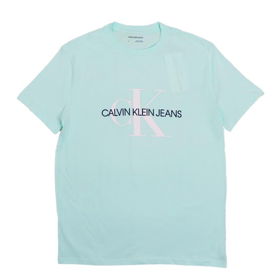 カルバンクライン ジーンズ Tシャツ メンズ レディース CalvinKleinJeans CK MONOGRAM トップス半袖ブランド 57
