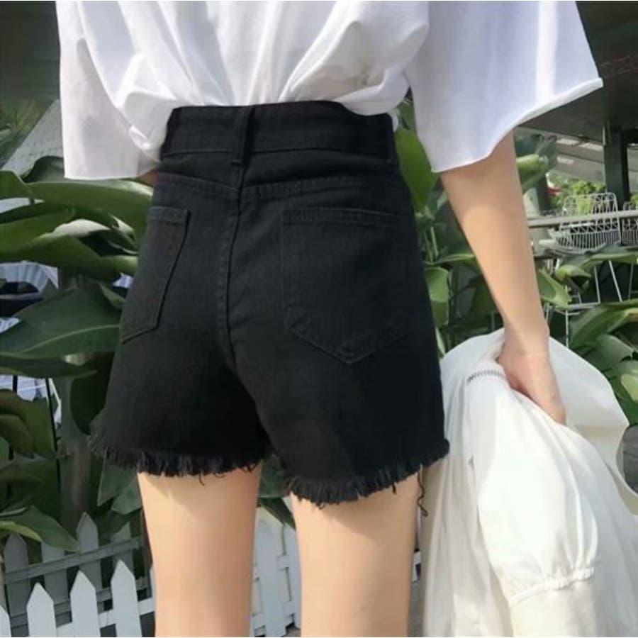 巻きスカート風ショートパンツ 2
