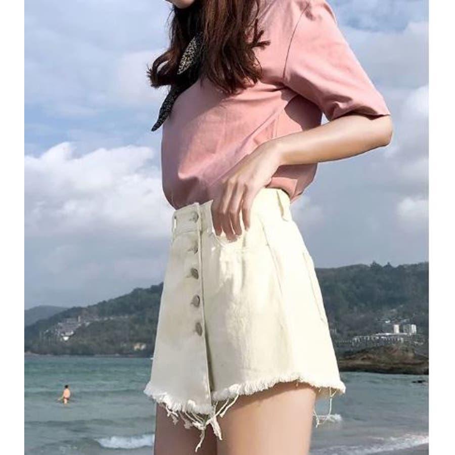 巻きスカート風ショートパンツ 3