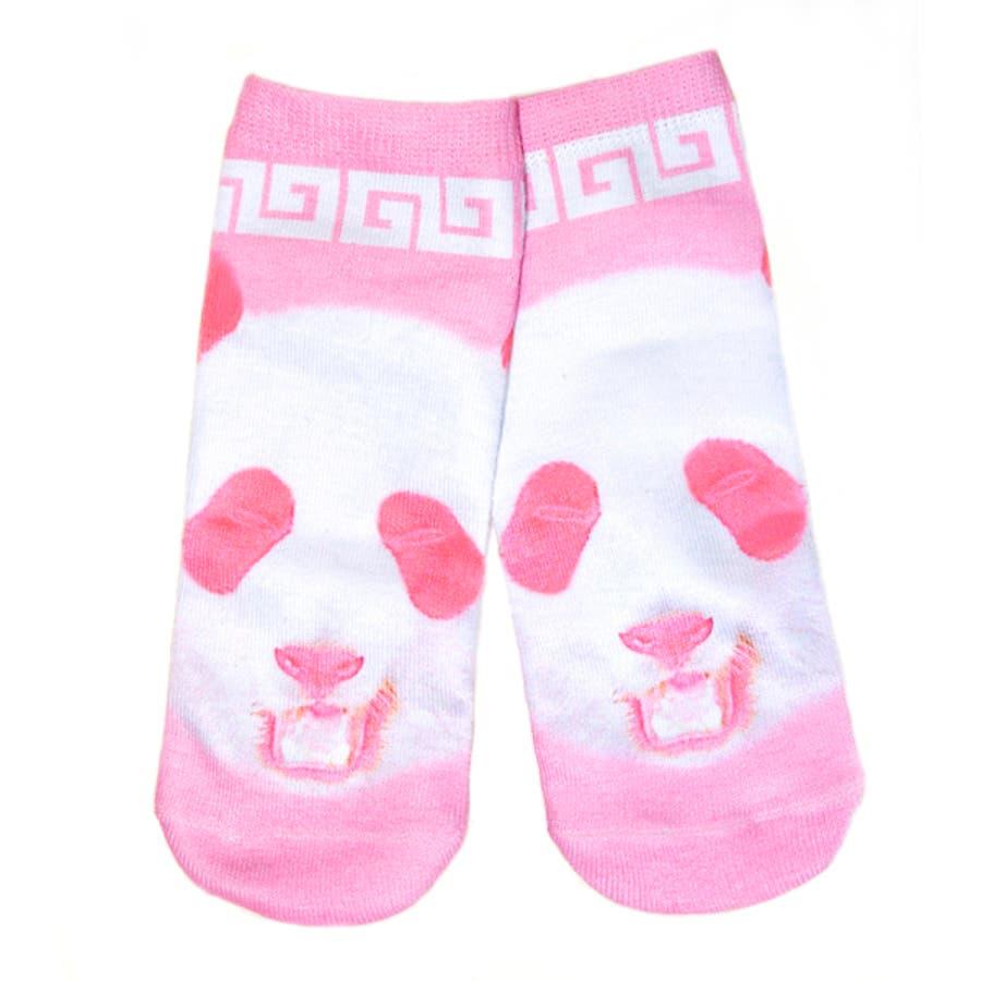 ピンクパンダ SOX パンダソックス 靴下 チャイナ 原宿系 ファッション レディース メンズ ゆめかわ ゆめかわいい
