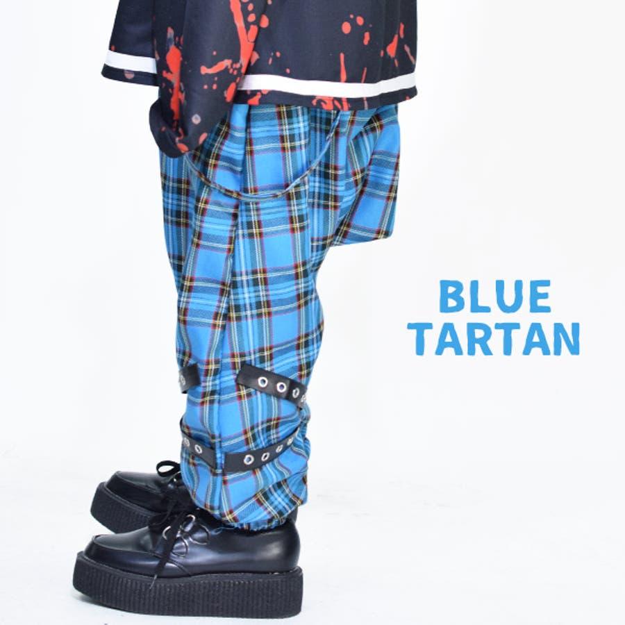 タータンボンテージパンツ パンク ロック 7