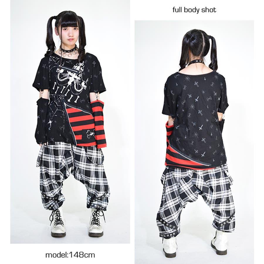 タータンボンテージパンツ パンク ロック 9