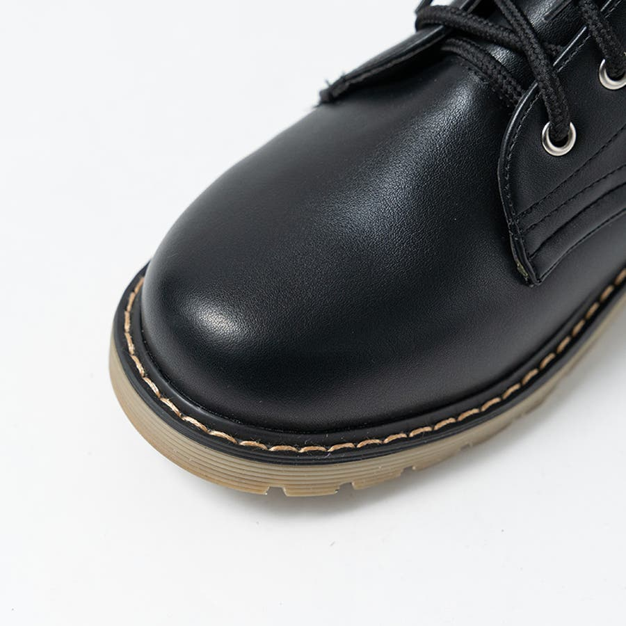 PUブーツ 原宿系 ブーツ マーチン パンク ロック ブーツ 黒 白 赤 青 派手 青文字系 KERA ACDC ACDCRAG 9