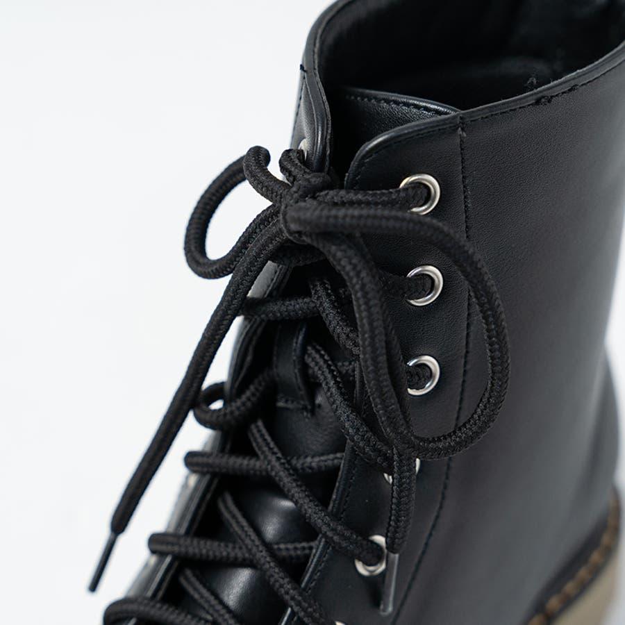 PUブーツ 原宿系 ブーツ マーチン パンク ロック ブーツ 黒 白 赤 青 派手 青文字系 KERA ACDC ACDCRAG 10