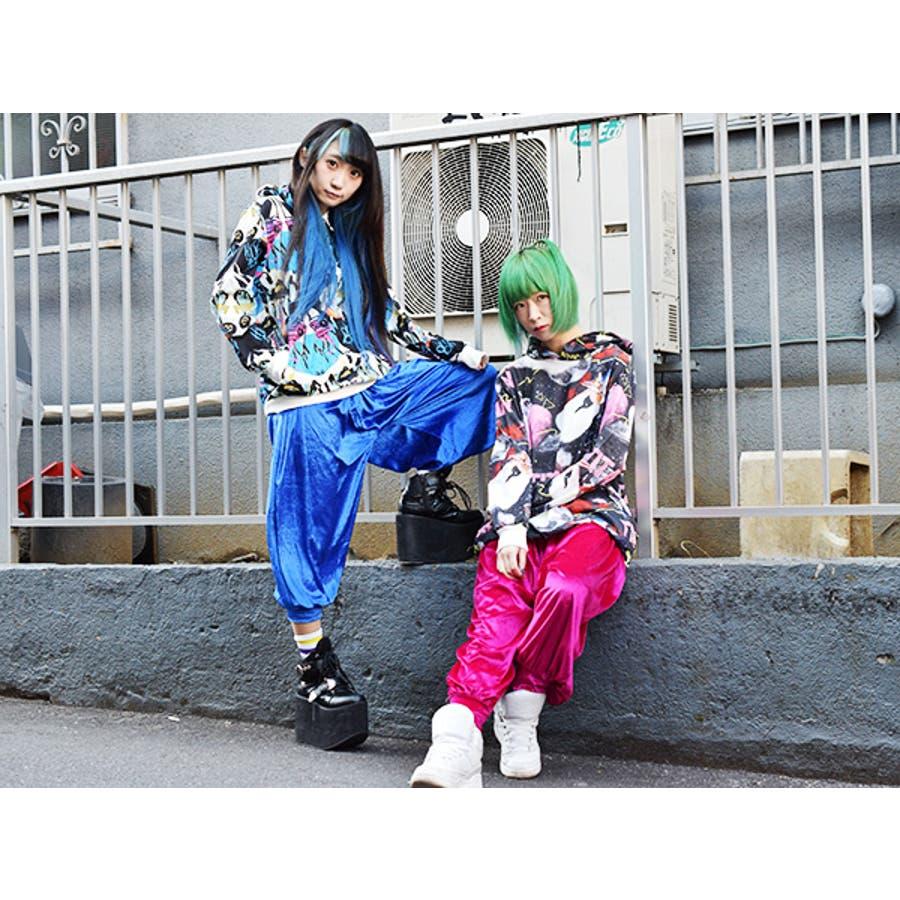 HIP HOPパーカー パーカー 原宿系 ファッション 派手 カワイイ ダンス 衣装 ヒップホップ 個性派 個性