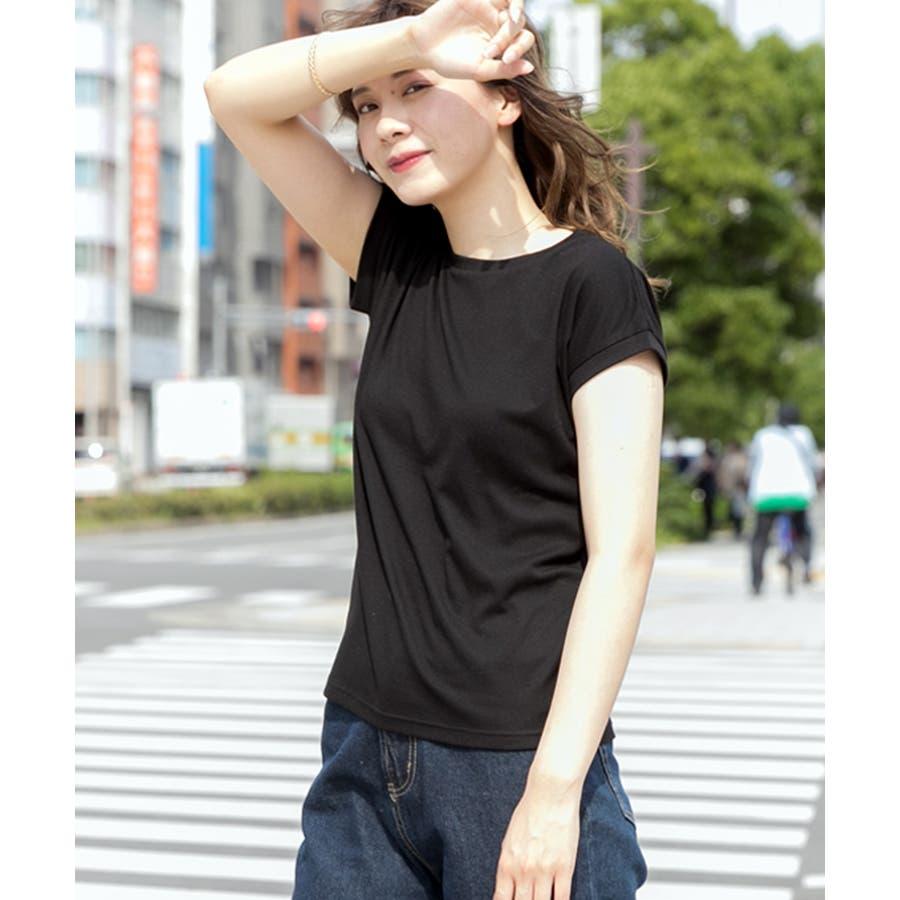 スムースシンプルTシャツ 21