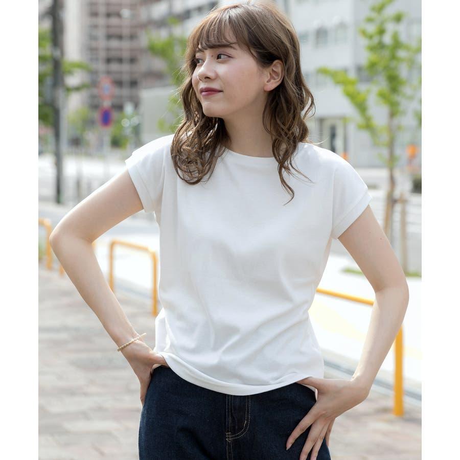 スムースシンプルTシャツ 17
