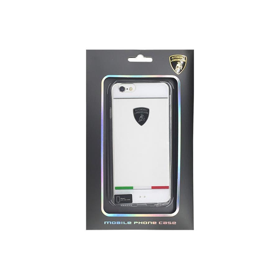 23fcf5204d Lamborghini 公式ライセンス商品 iPhone6s iPhone6 ケース TPU+PC クリア Jacket 自動車ブランド メンズ  おしゃれ