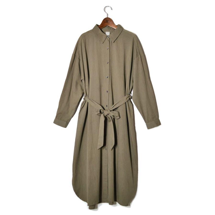 30Sコットンツイル・SHIRT ONE PIECE DRESS 53