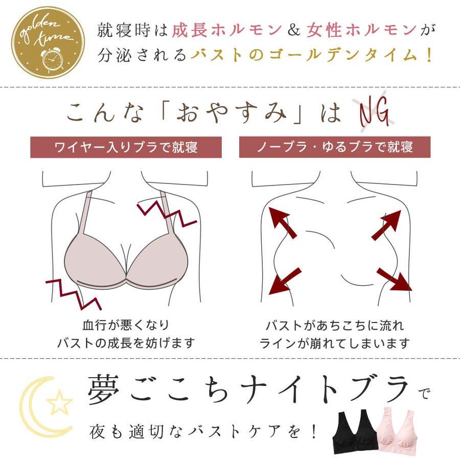 ナイトブラ 楽フィット 夢ごこち 2