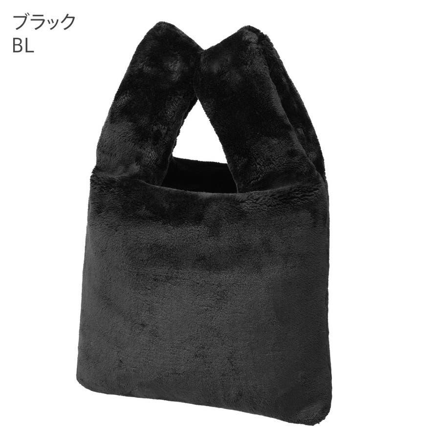 ふわもこバッグ ファー バッグ(aimerfeel エメフィール ファーバッグ ファーバック バック バッグ ハンドバッグトートバッグ レディース 女性 おしゃれ かわいい 可愛い ふわふわ もこもこ ふわもこ かばん 鞄 手提げ)outlet 3