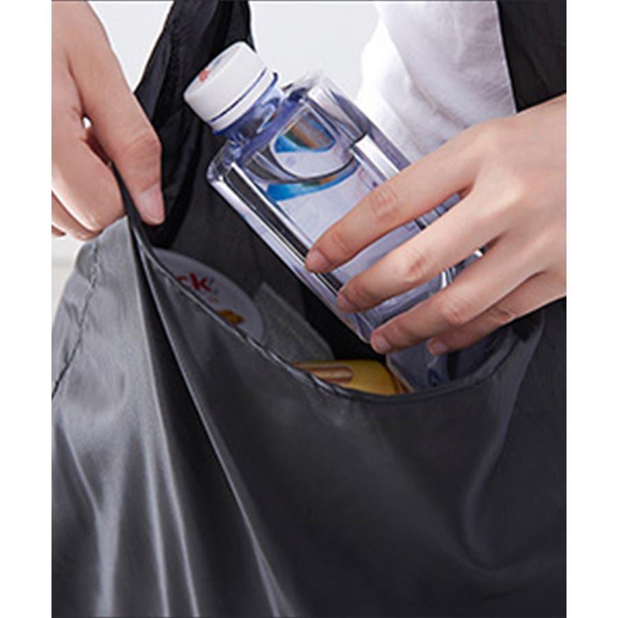 エコバッグ 折りたたみ コンパクト おしゃれ かわいい お買い物バッグ 買い物バック エコバック ロール 丸められる サブバック レジ袋 ショッピングバッグ サブバッグ 軽量 シンブル 手提げ 手さげ 10