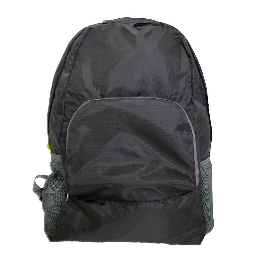 エコリュック  『  レジ袋の代わりに エコバッグ 折りたたみ コンパクト バックパック 』 多機能マザーズバッグ 旅行 レジャー 軽量 サブバッグ トレンド 生活雑貨 AISCANDY 21