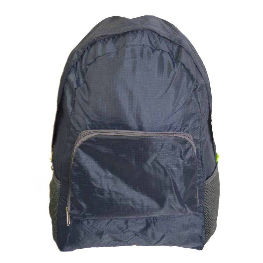 エコリュック  『  レジ袋の代わりに エコバッグ 折りたたみ コンパクト バックパック 』 多機能マザーズバッグ 旅行 レジャー 軽量 サブバッグ トレンド 生活雑貨 AISCANDY 64