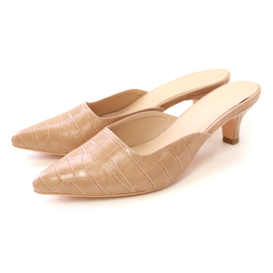 人気 スクエアカット ミュール サンダル 6センチ ヒール レディース 春 夏 黒 靴 シンプル ポインテッド大きいサイズ美脚チュールピンヒール 楽 歩きやすい 痛くない サンダル CX1123 46