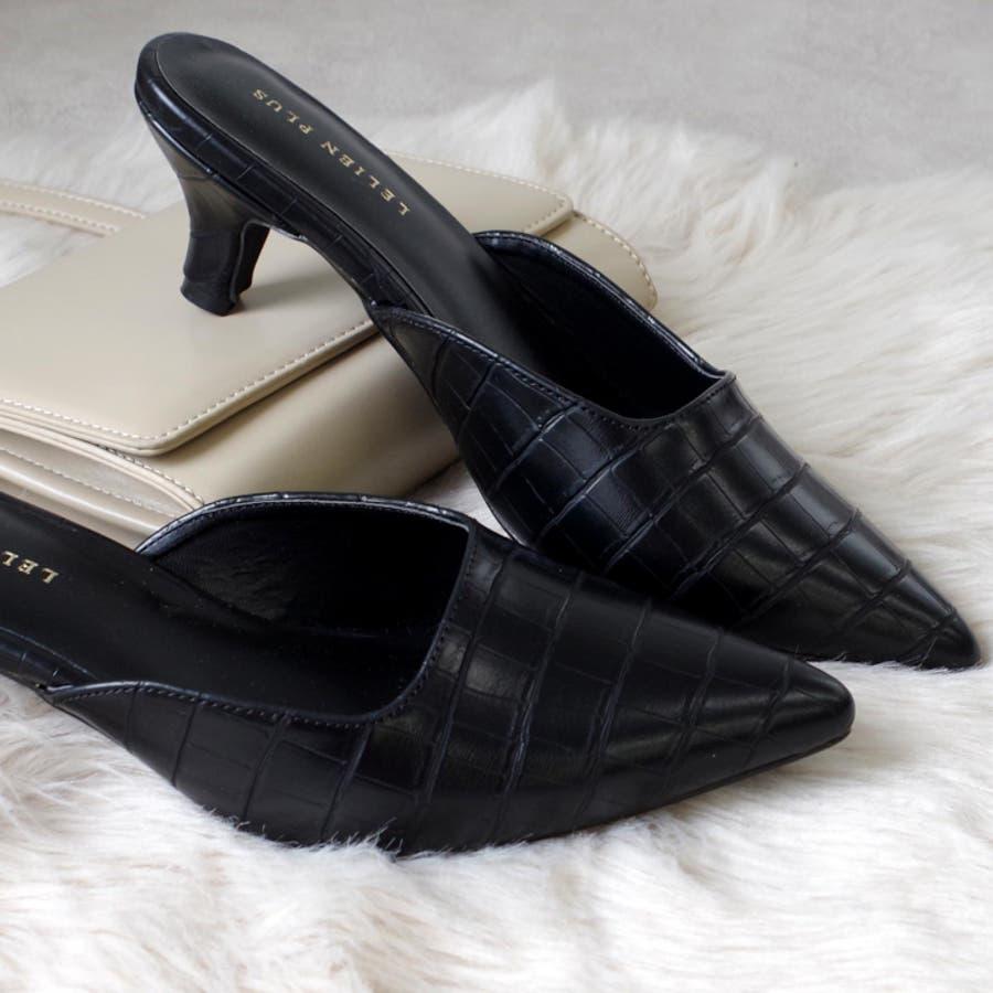 人気 スクエアカット ミュール サンダル 6センチ ヒール レディース 春 夏 黒 靴 シンプル ポインテッド大きいサイズ美脚チュールピンヒール 楽 歩きやすい 痛くない サンダル CX1123 21