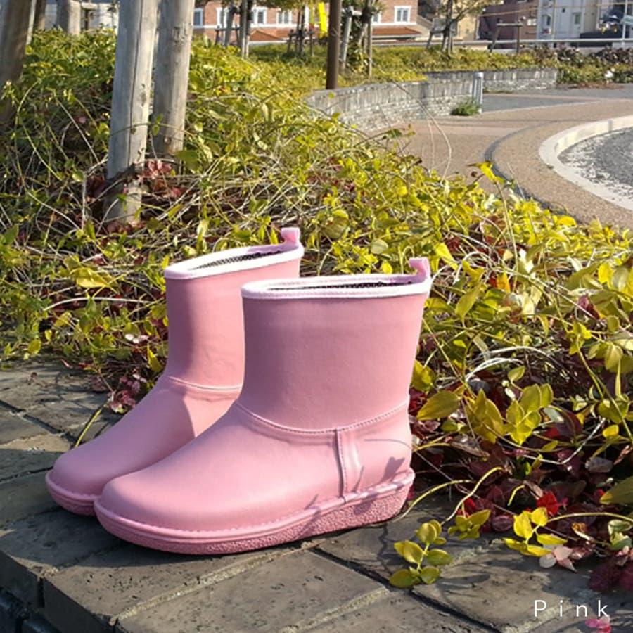 ショートレインブーツ春夏秋冬人気安心の日本製 レディース 高品質ラバーブーツ 長靴 ガーデンシューズ レインシューズラバーシューズラバーブーツNC712 5