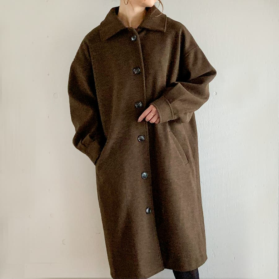 袖タックロングコート/カジュアル フェミニン 大人 アウター 韓国 韓国ファッション 人気  29
