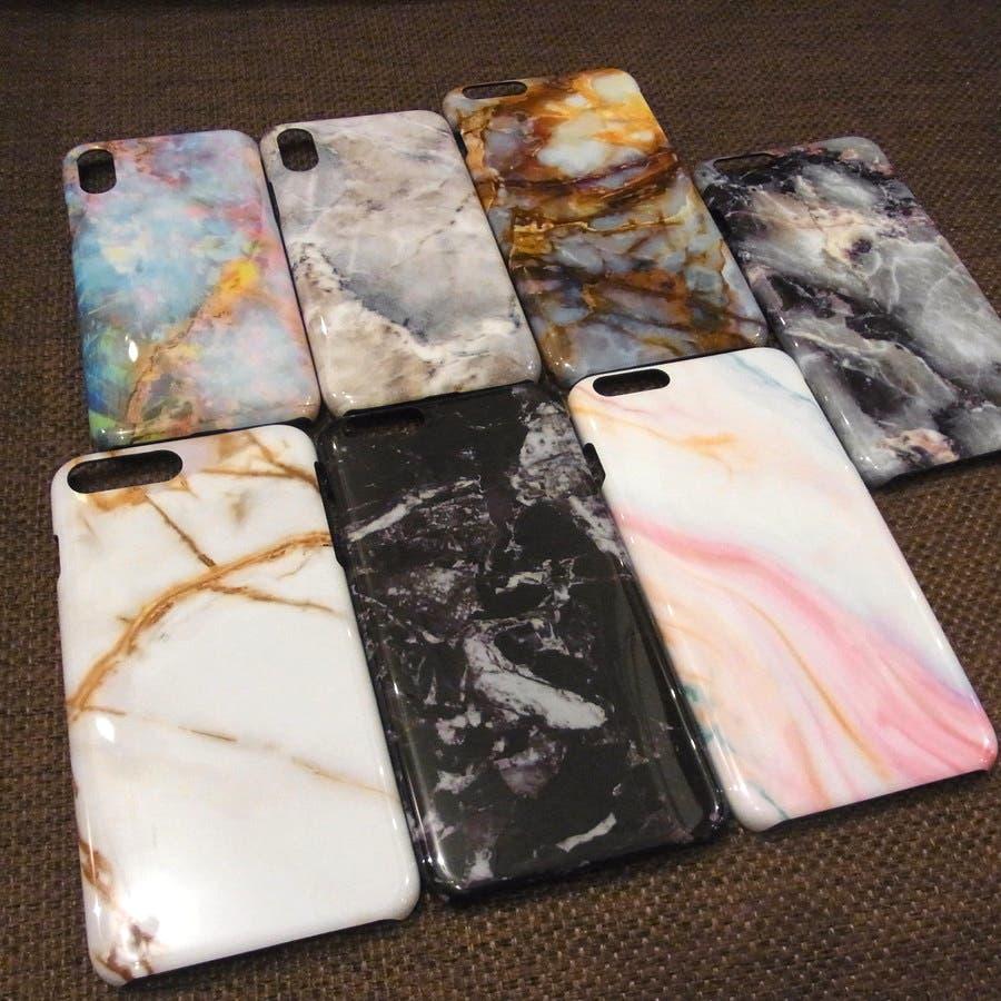 スマホケース 大理石風 マーブルデザイン iphoneケース 1