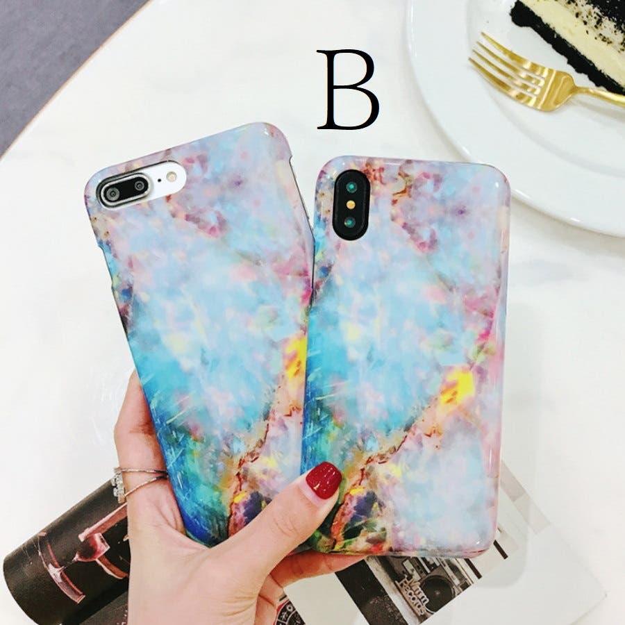 スマホケース 大理石風 マーブルデザイン iphoneケース 6