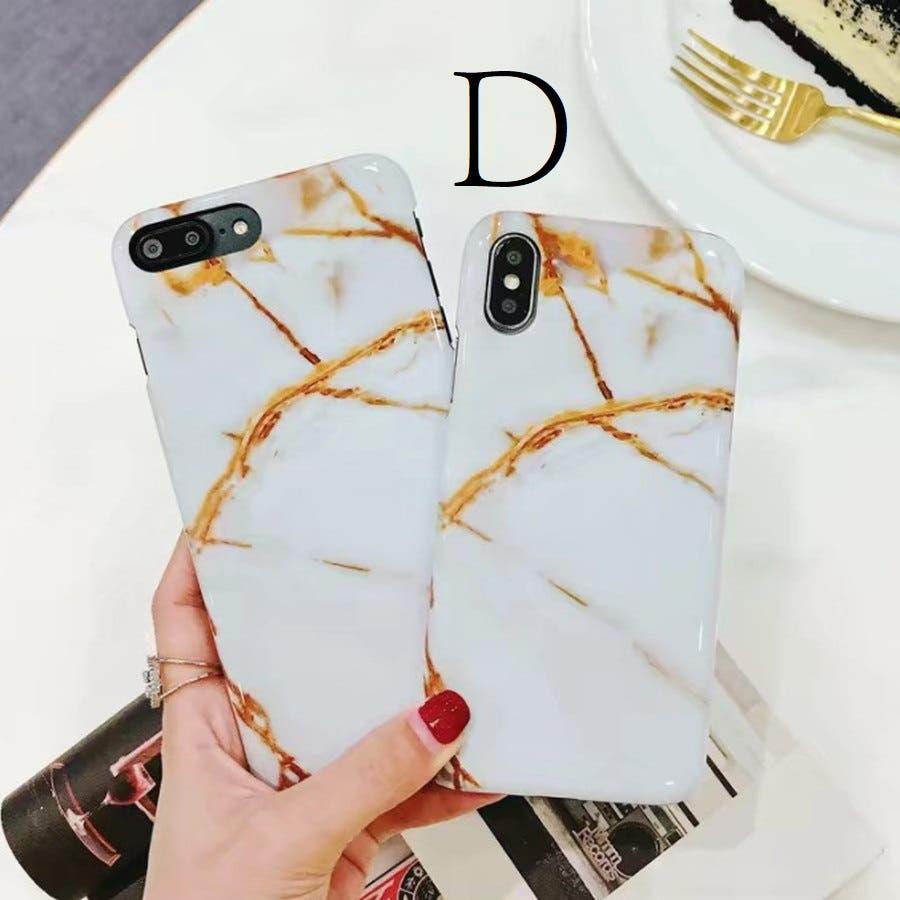 スマホケース 大理石風 マーブルデザイン iphoneケース 8