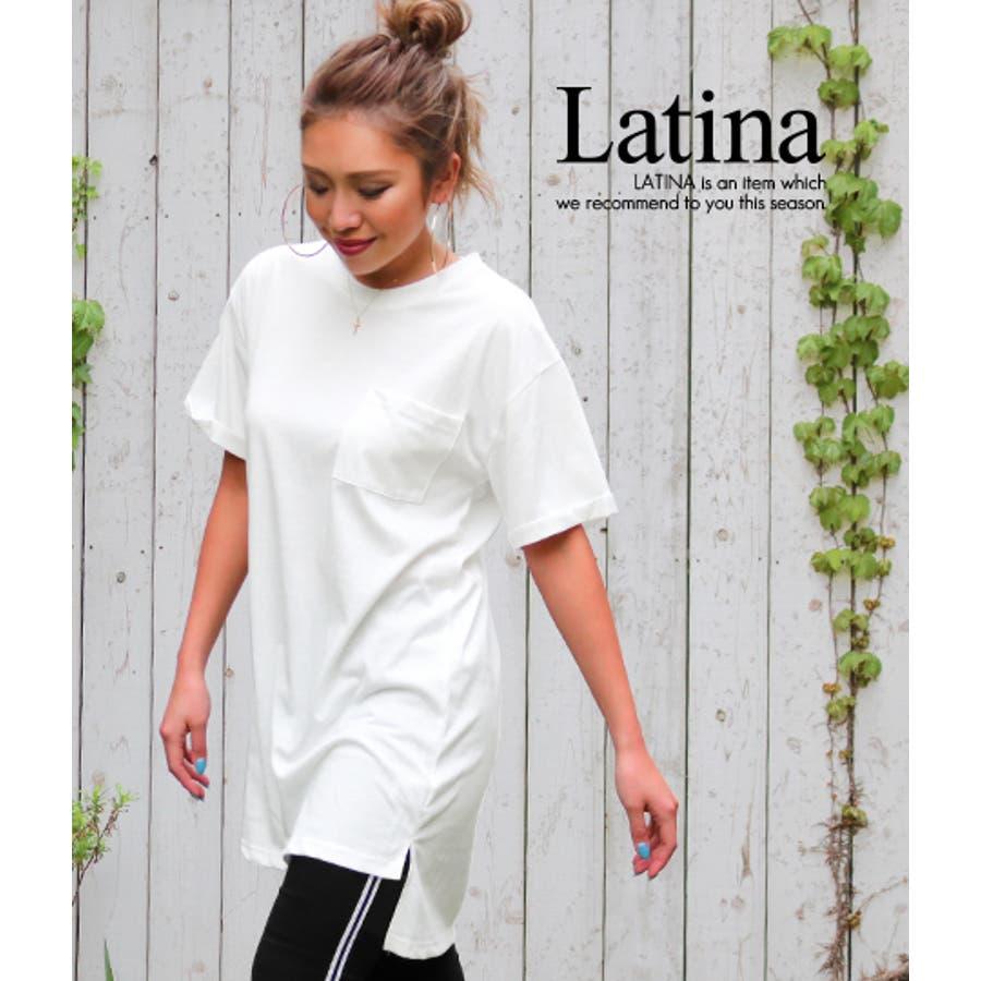 06ab544f8da1c ポケットTシャツワンピース アナップ アナップラティーナ anap Latina ...