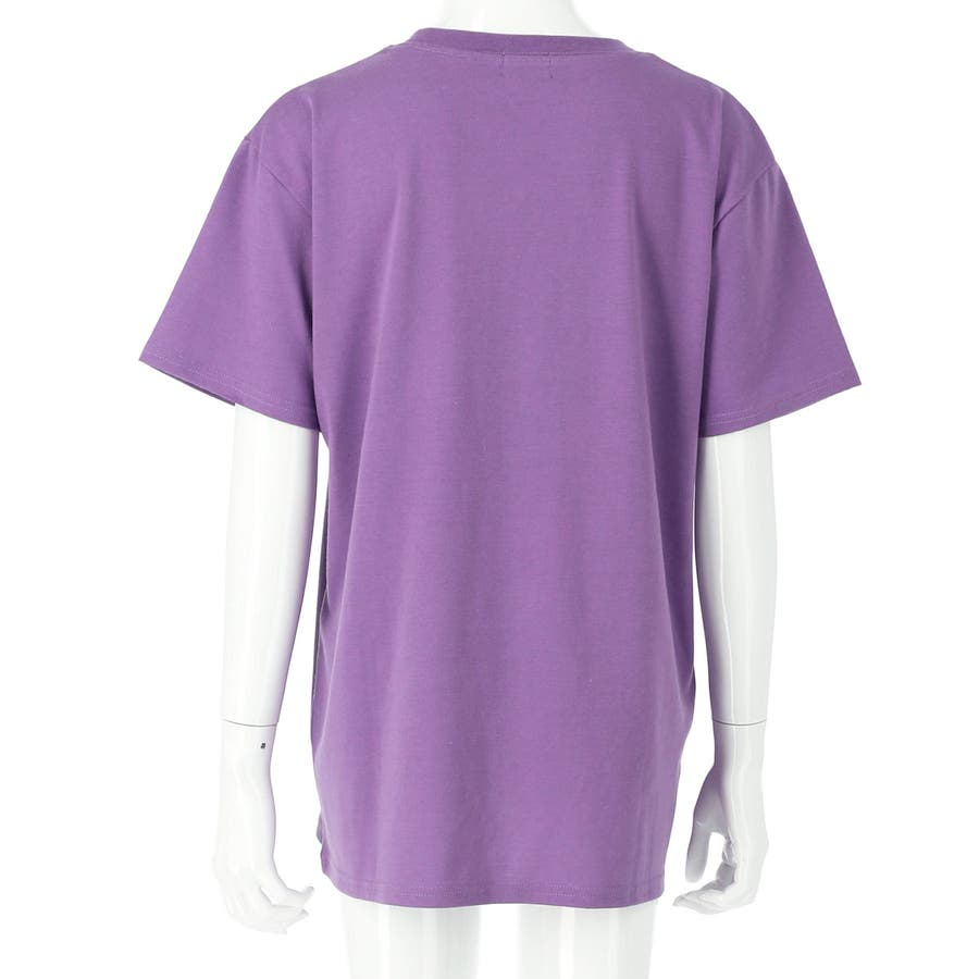 フラップポケット付チュニック 女の子 ガール ANAP GiRL アナップガール トップス Tシャツ 秋冬 紫 黒 白 S/M 7