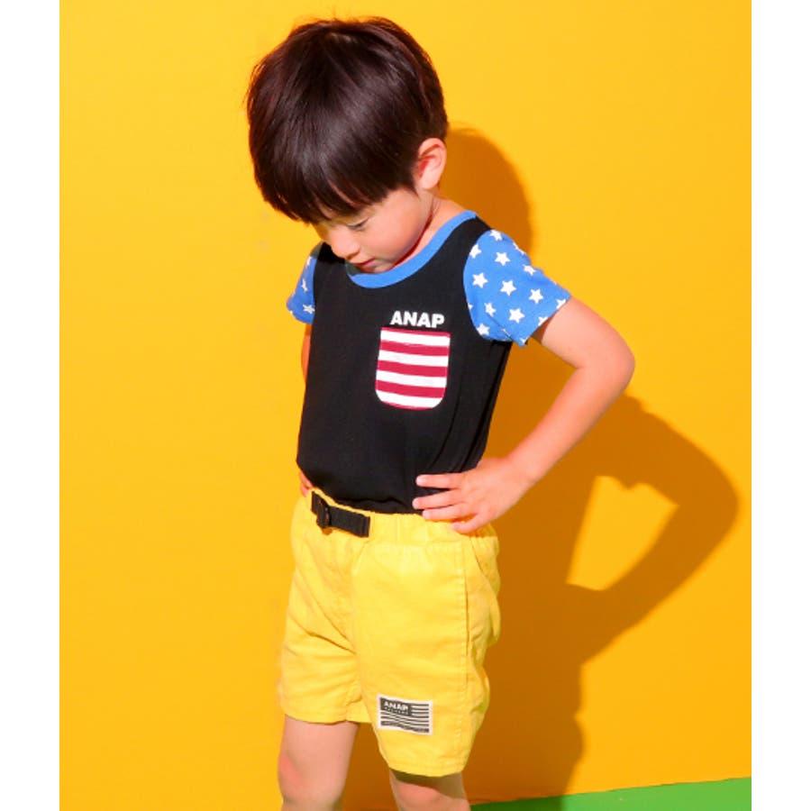 フラッグパターンTシャツ 4
