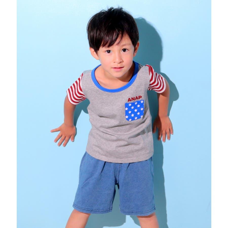 フラッグパターンTシャツ 6