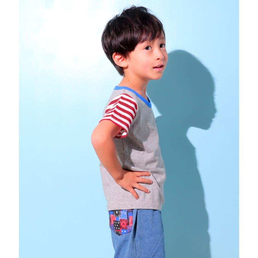 フラッグパターンTシャツ 8
