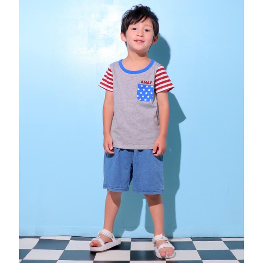 フラッグパターンTシャツ 10