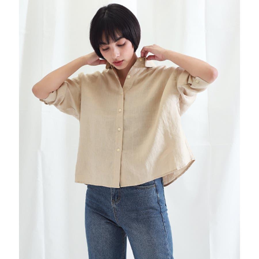「リネンシャツ」の画像検索結果