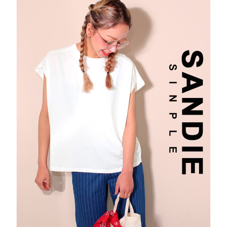 女をアゲる Sandie anap 接触冷感機能ドルマンTシャツ 不意