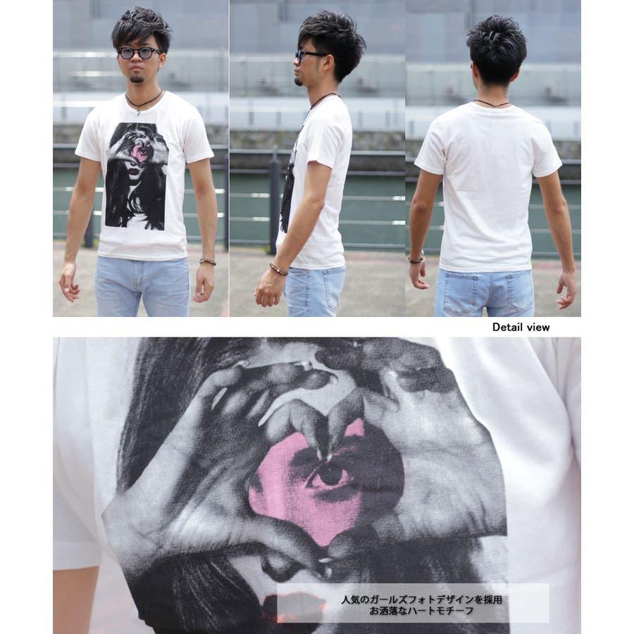 I LOVE ガールズフォトTシャツ 6