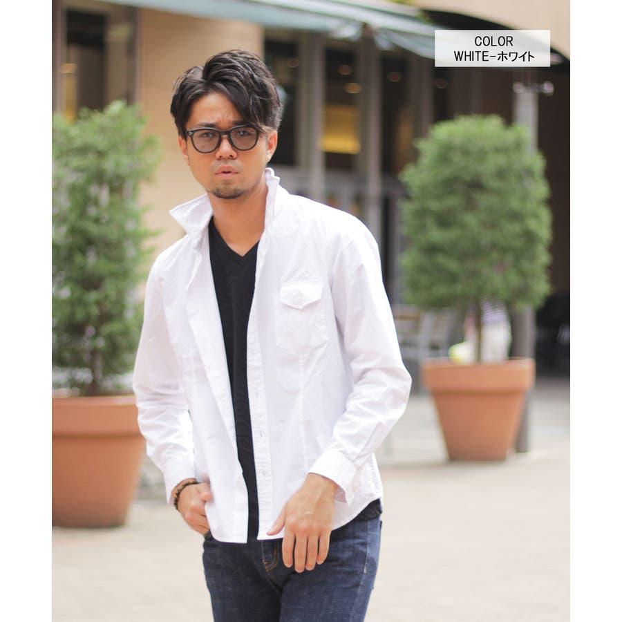 ワイヤー入り長袖シャツ 7