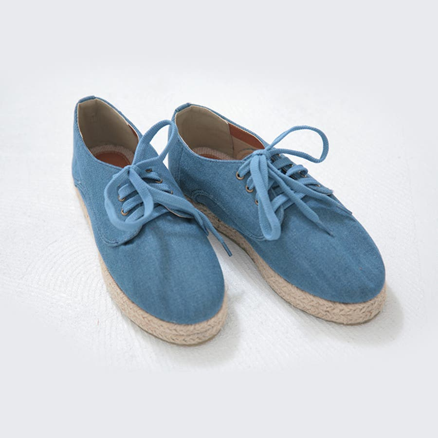 こんなの欲しかった arbore アーバー  デニム+ジュート スニーカー 3色  M L  アーバー  靴 誤審